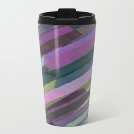 Brushstrokes Metal Travel Mug
