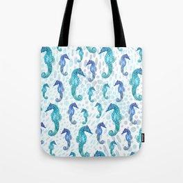 Seahorse Squad Tote Bag