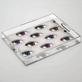 I ONLY HAVE EYES FOR YOU Acrylic Tray