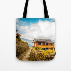 Village House Tote Bag
