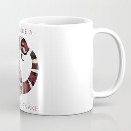 Terrible Misnake Coffee Mug