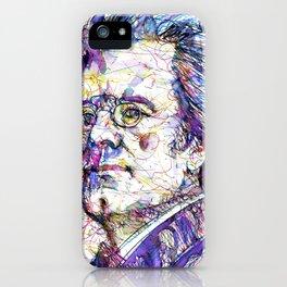GUSTAV MAHLER portrait.5 iPhone Case