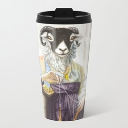 The Sheep Spinner Metal Travel Mug