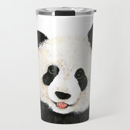 naughty little panda Travel Mug