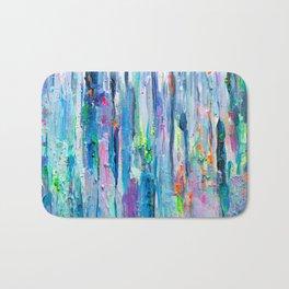 Silver Rain Bath Mat
