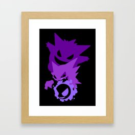 Ghost Evolution Framed Art Print