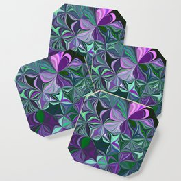 Purple Abstract Flow Coaster