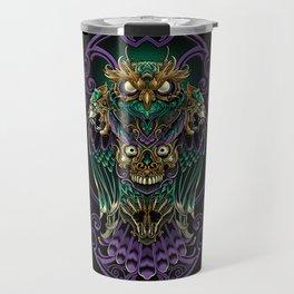 Grand Horned Owl Travel Mug