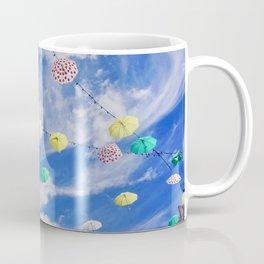 Colourful Umbrellas Coffee Mug