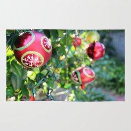 Christmas Bulbs Rug