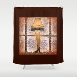 Fra-gee-lay Shower Curtain