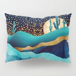 Indigo Desert Night Pillow Sham