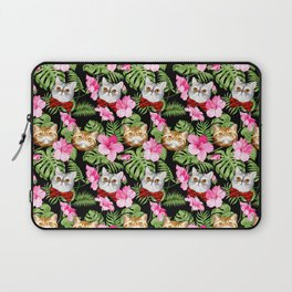 Aloha Eggs and Pumpkin Laptop Sleeve
