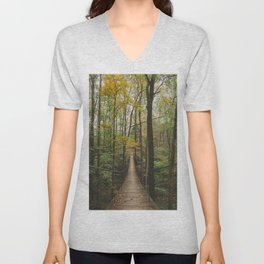 A Walk in the Woods, No. 2 Unisex V-Neck