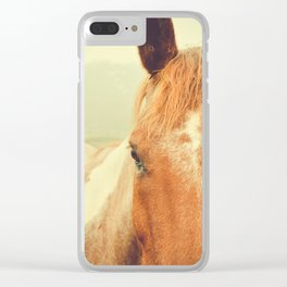 Betty Clear iPhone Case
