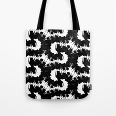 Black energy Tote Bag
