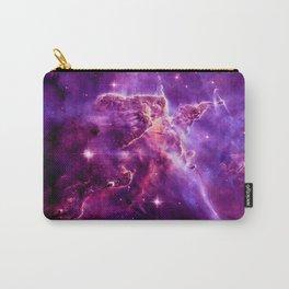 Mystic Mountain nebula. Purple Fuchsia Pink Carry-All Pouch