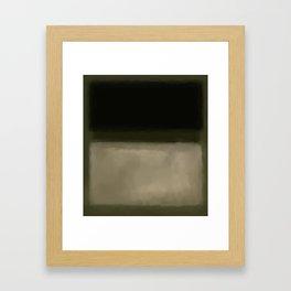 Rothko Inspired #5 Framed Art Print