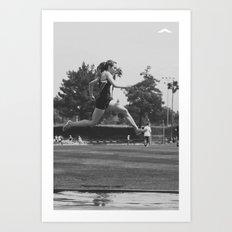 GET UP Series Art Print
