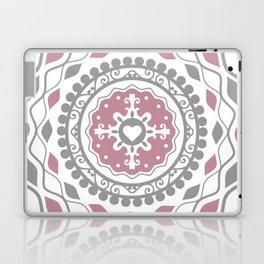 Heart Mandala – Pink Laptop & iPad Skin