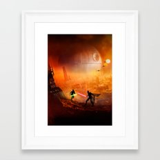 STAR . WARS Framed Art Print