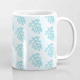 Dusty Miller Greenery Pattern Coffee Mug