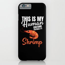 National Shrimp Day iPhone Case