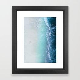 sea 5 Framed Art Print
