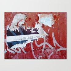 Urban Abstract 47 Canvas Print