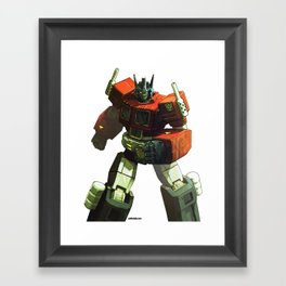 PRIMETIME Framed Art Print