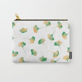 Ginkgo biloba leaves white Carry-All Pouch