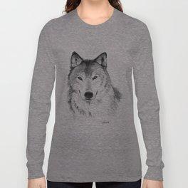 Wolf head Long Sleeve T-shirt