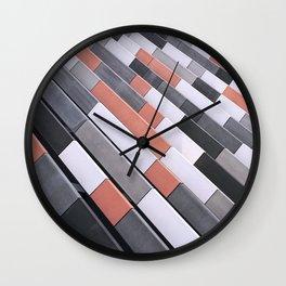 Repeating Tiles Wall Clock