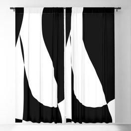 Minimalist Black and White 82 Blackout Curtain