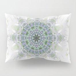 Light Birch Mandala Pillow Sham