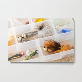 Fishing Tackle 48 Metal Print