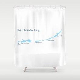 Florida Keys. Shower Curtain
