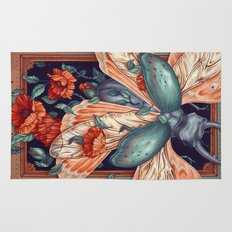 Moth Beetle Rug