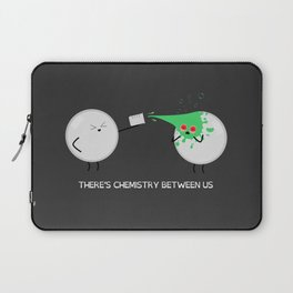 'There's Chemistry Between Us' by Digital Slave Laptop Sleeve