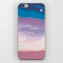 Painted Sunset iPhone Skin
