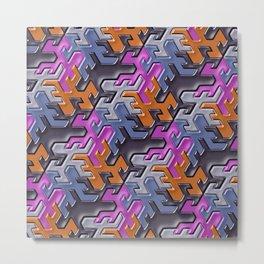 Geometrix 112 Metal Print