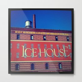 The Icehouse Metal Print