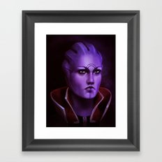 Mass Effect: Aria T'Loak Framed Art Print
