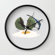 Eggsplosion Wall Clock