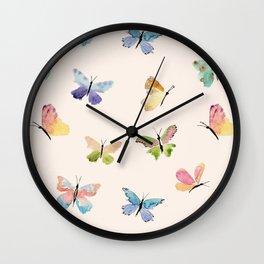Beautiful Butterflies Wall Clock