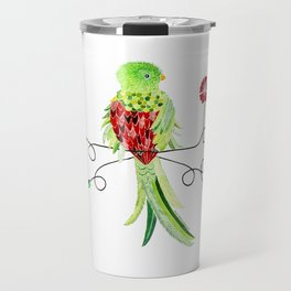 Bird of Costa Rica, quetzal Travel Mug