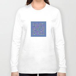Tile Pattern Long Sleeve T-shirt