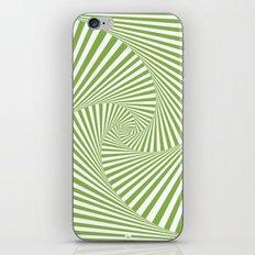 Green Twista iPhone Skin