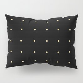Black & Cream Polka Dots Pillow Sham