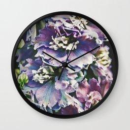 Field of Flowers 14 Wall Clock